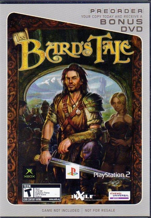 Bard's Tale Preorder Bonus DVD (DVD) (Front)