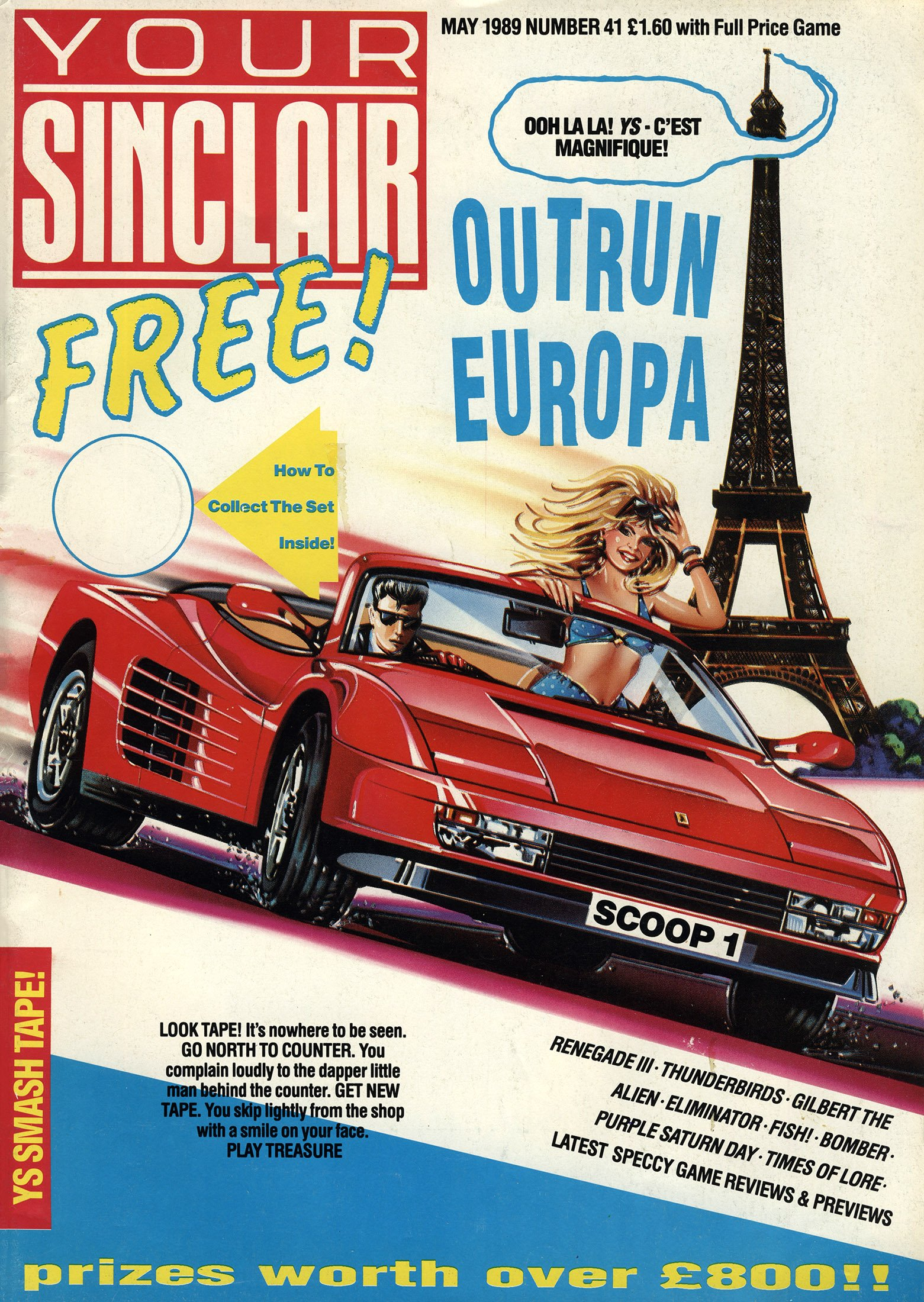 Your Sinclair Issue 41 (May 1989)
