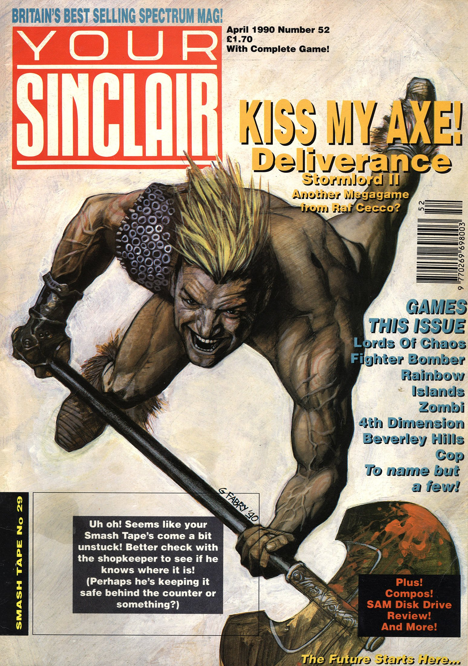 Your Sinclair Issue 52 (April 1990)