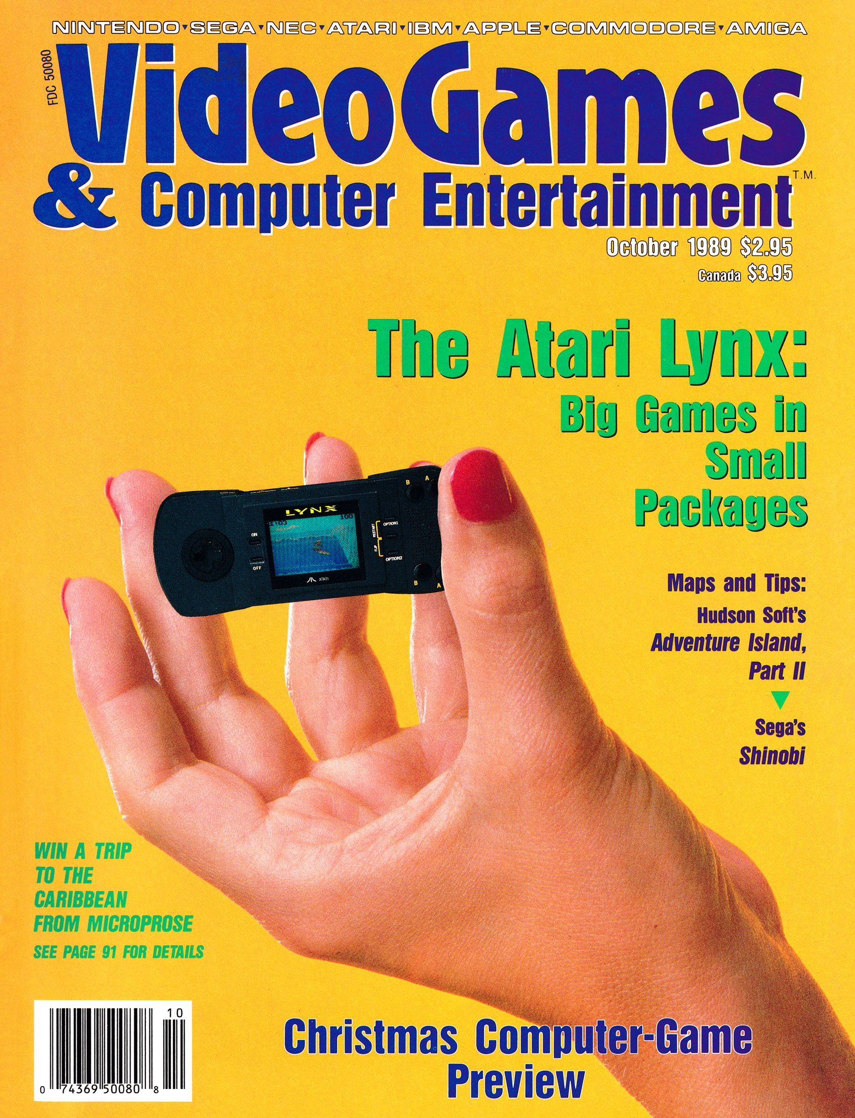Video Games & Computer Entertainment Issue 09 October 1989