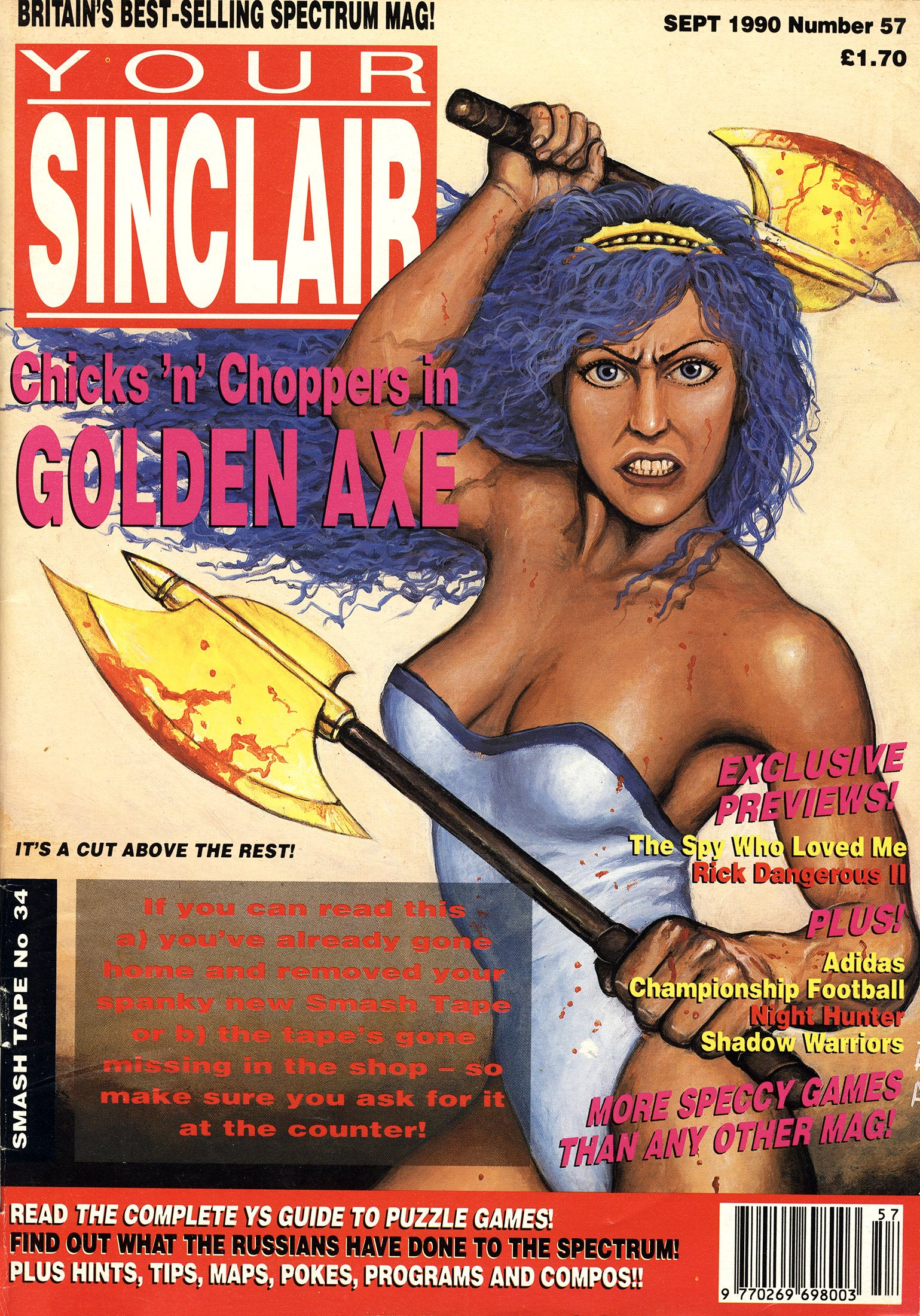 Your Sinclair Issue 57 (September 1990)