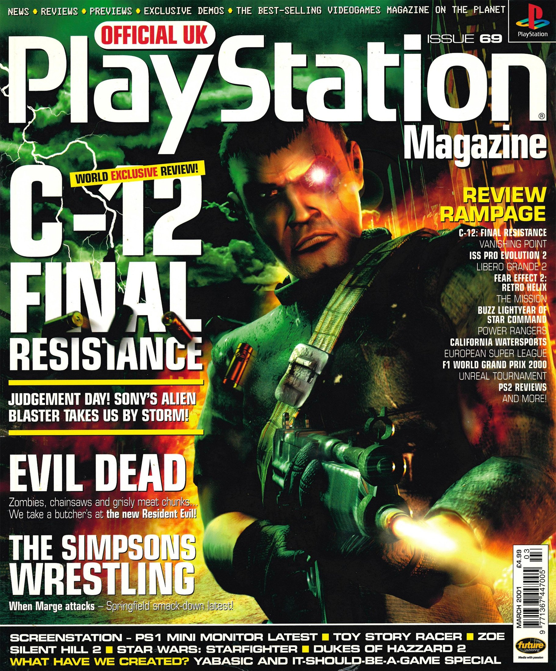 Official UK PlayStation Magazine Issue 069 (March 2001)