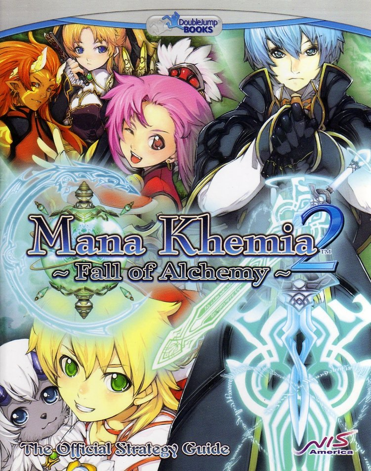 Mana Khemia 2 - Fall of Alchemy Official Strategy Guide