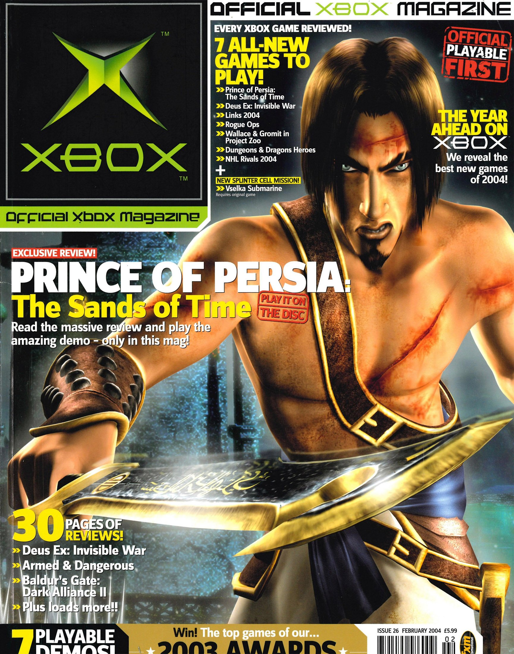 Official UK Xbox Magazine Issue 26 - February 2004
