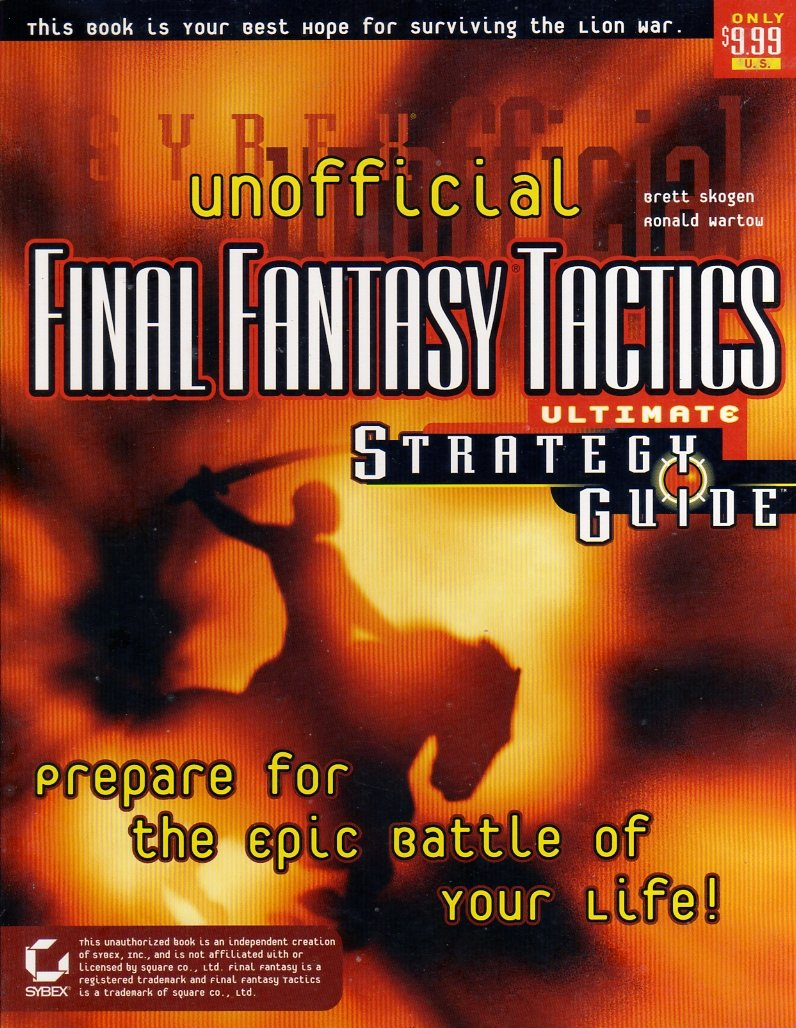 Final Fantasy Tactics Unofficial Ultimate Strategy Guide