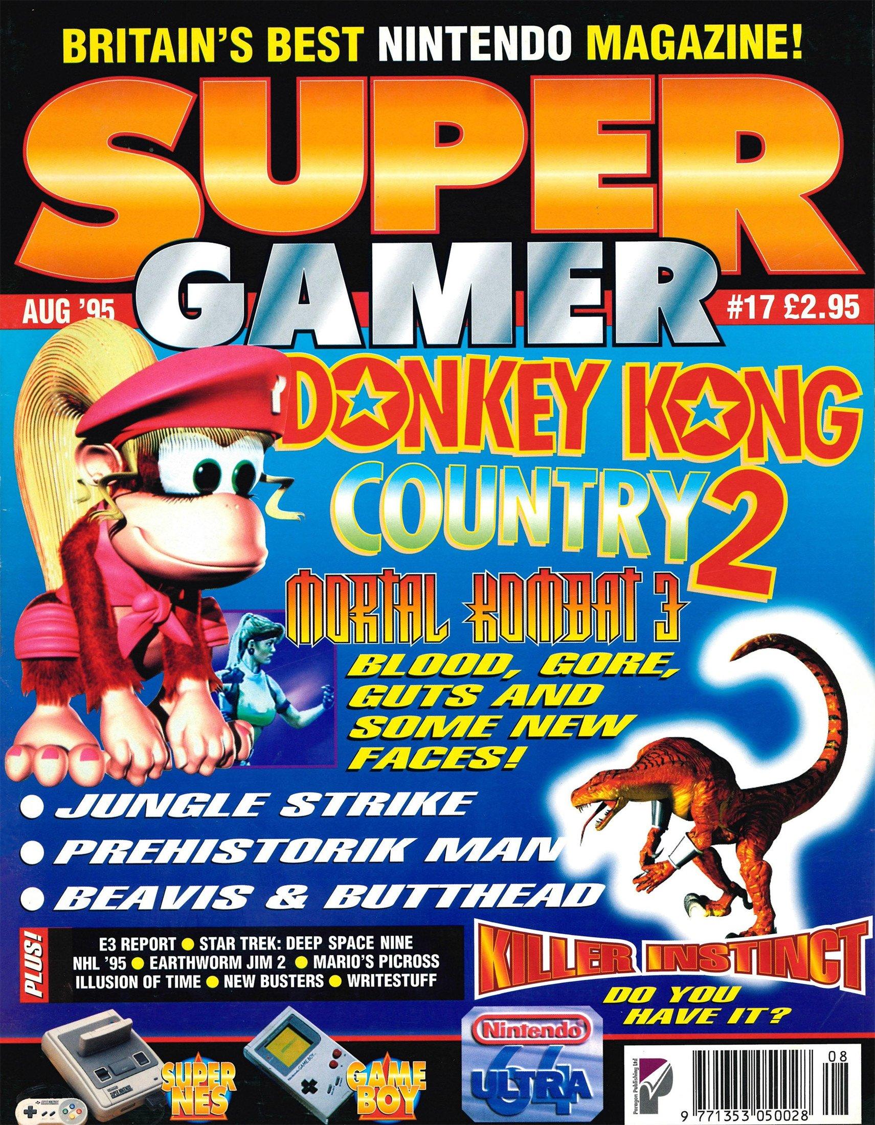 Super Gamer Issue 17 (August 1995)