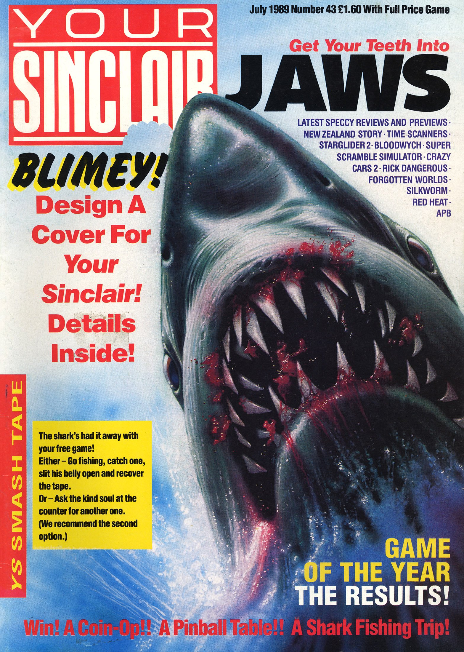 Your Sinclair Issue 43 (July 1989)