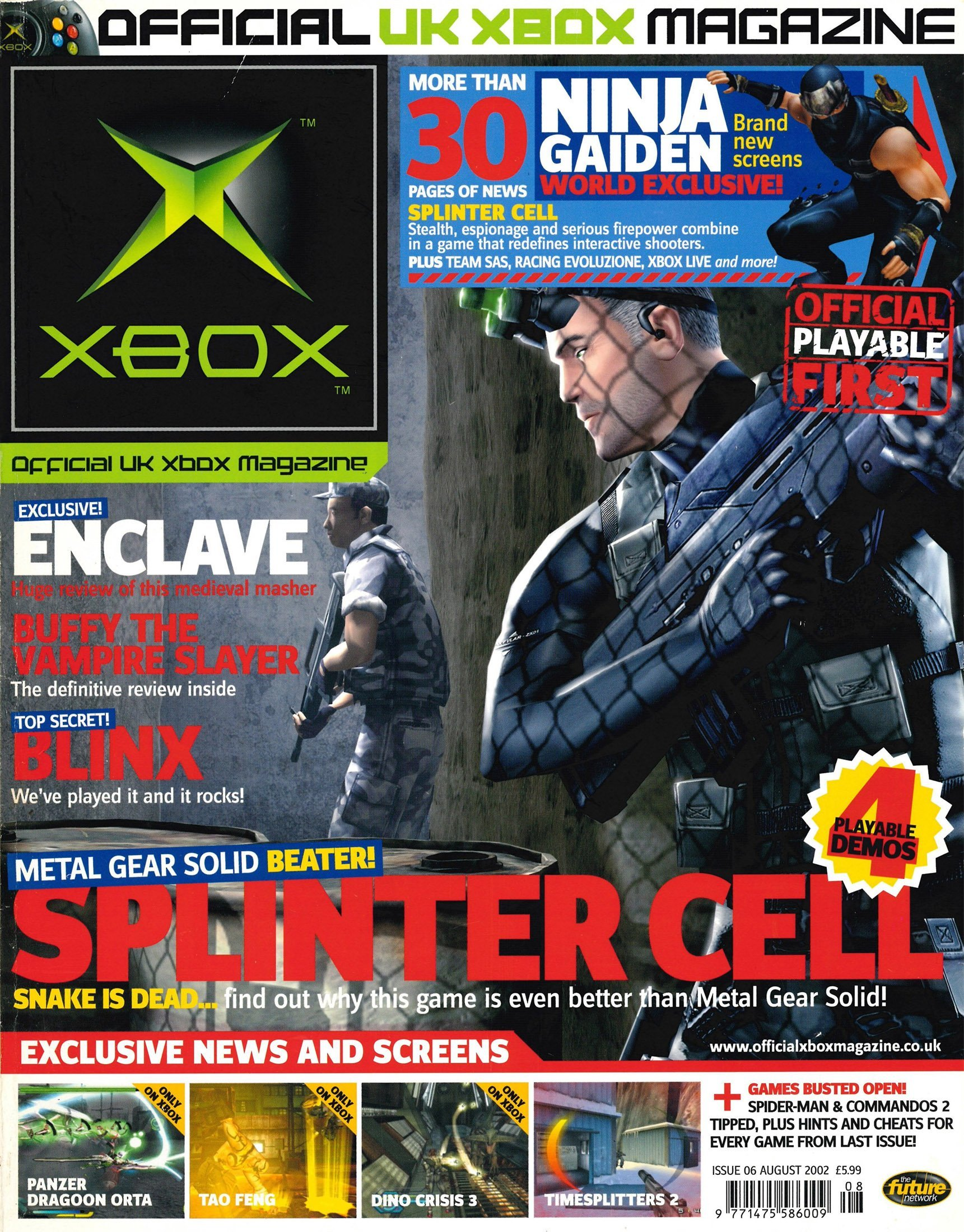 Official UK Xbox Magazine Issue 06 - August 2002
