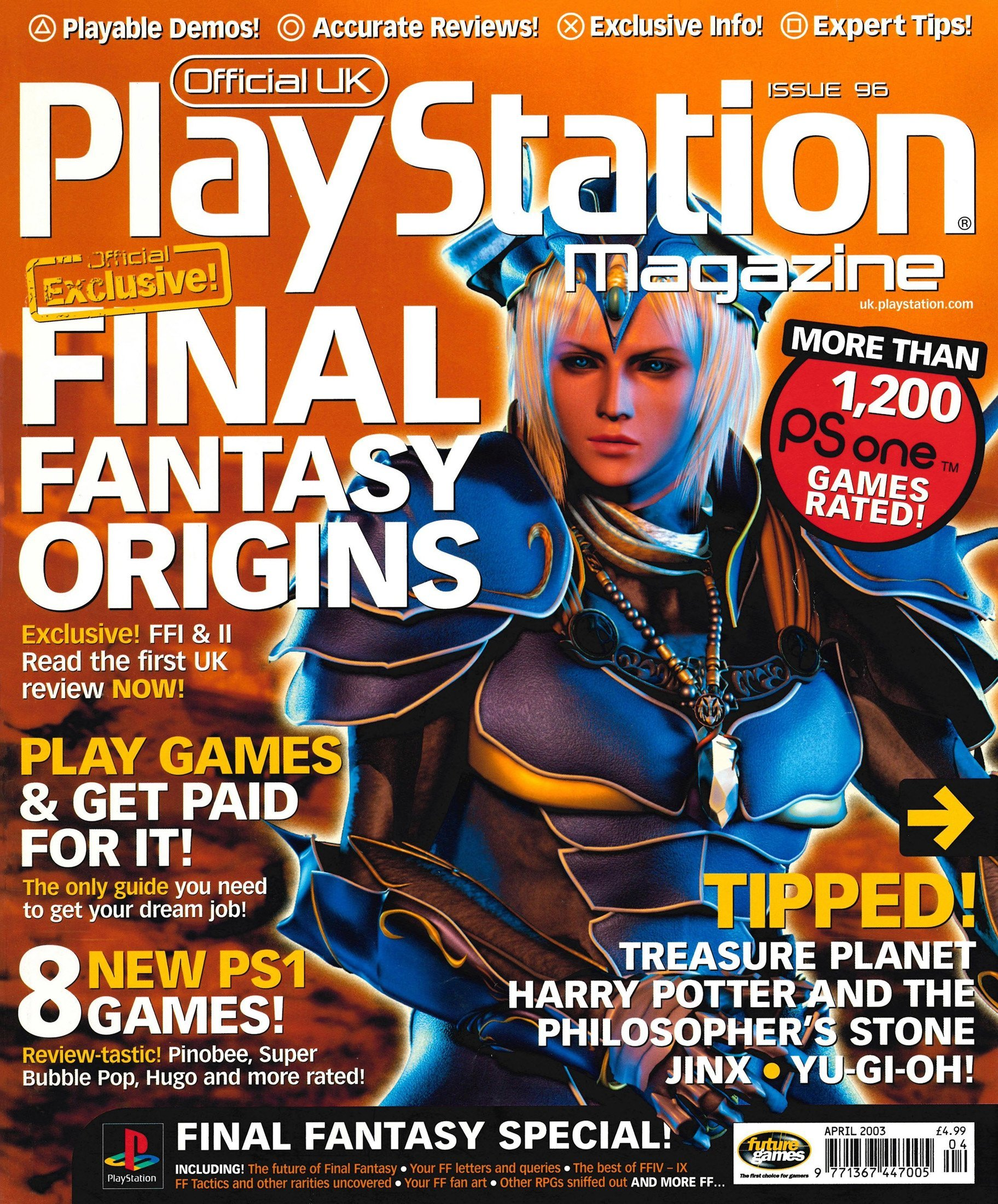 Official UK PlayStation Magazine Issue 096 (April 2003)
