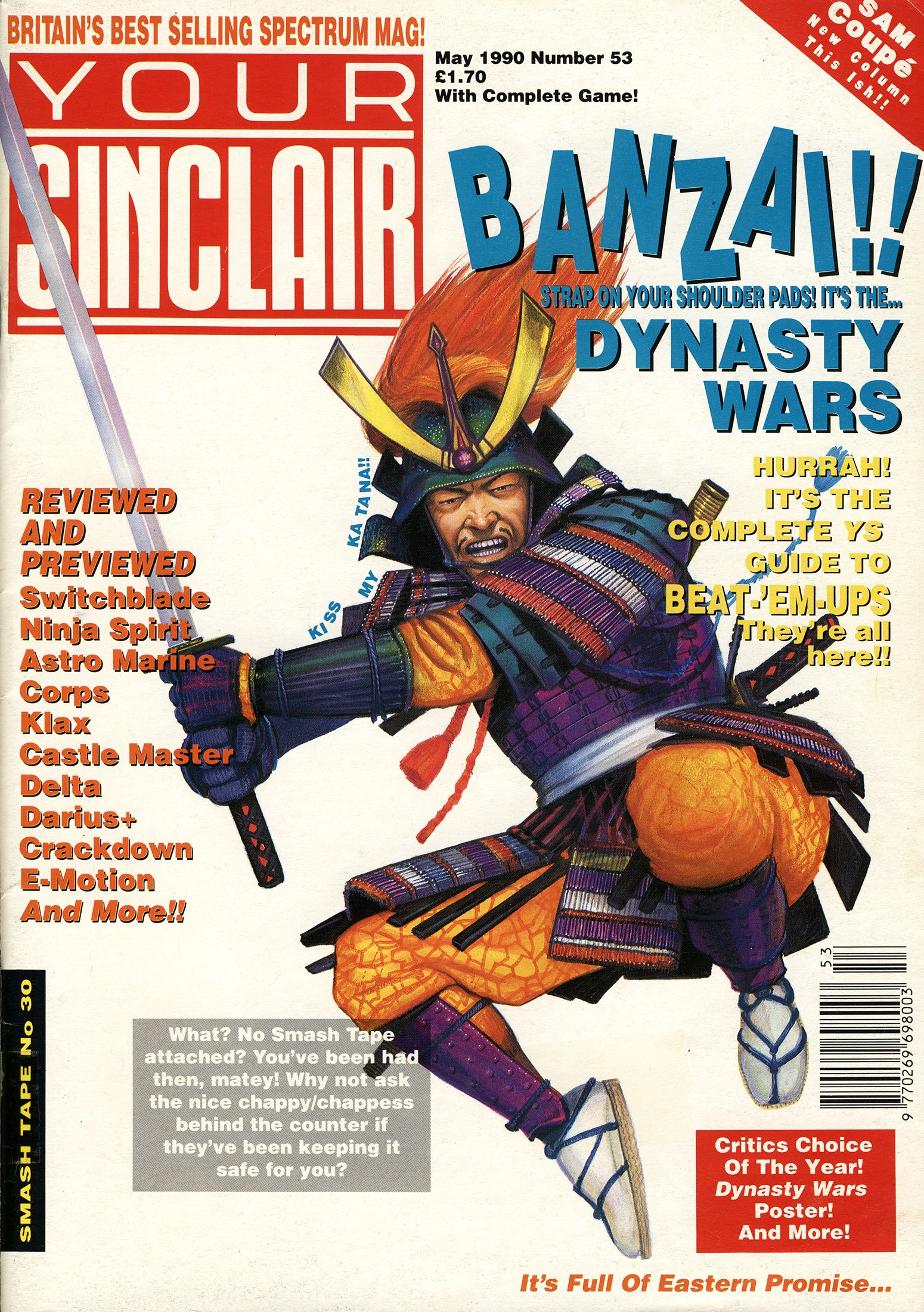 Your Sinclair Issue 53 (May 1990)