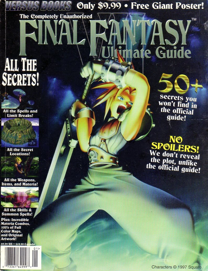 Final Fantasy VII Completely Unauthorized Ultimate Guide (2nd Printing)