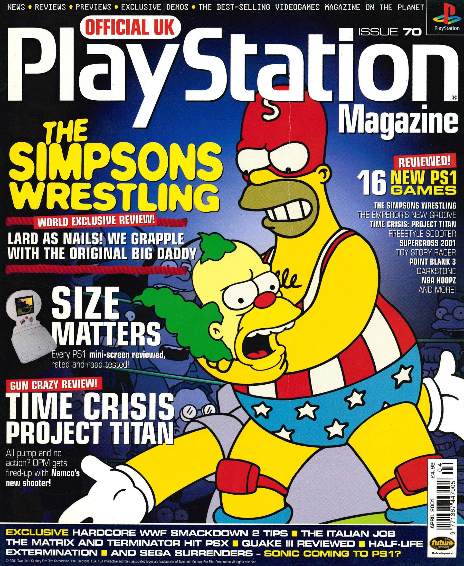 Official UK PlayStation Magazine Issue 070 (April 2001)