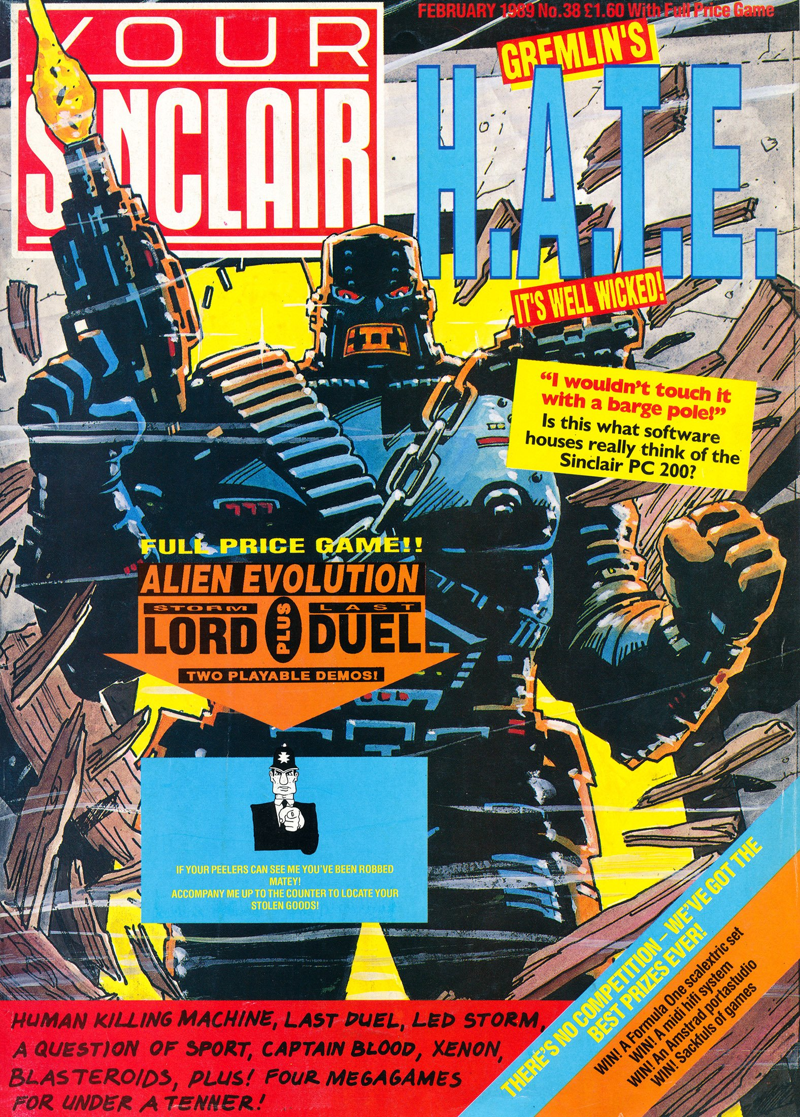 Your Sinclair Issue 38 (February 1989)
