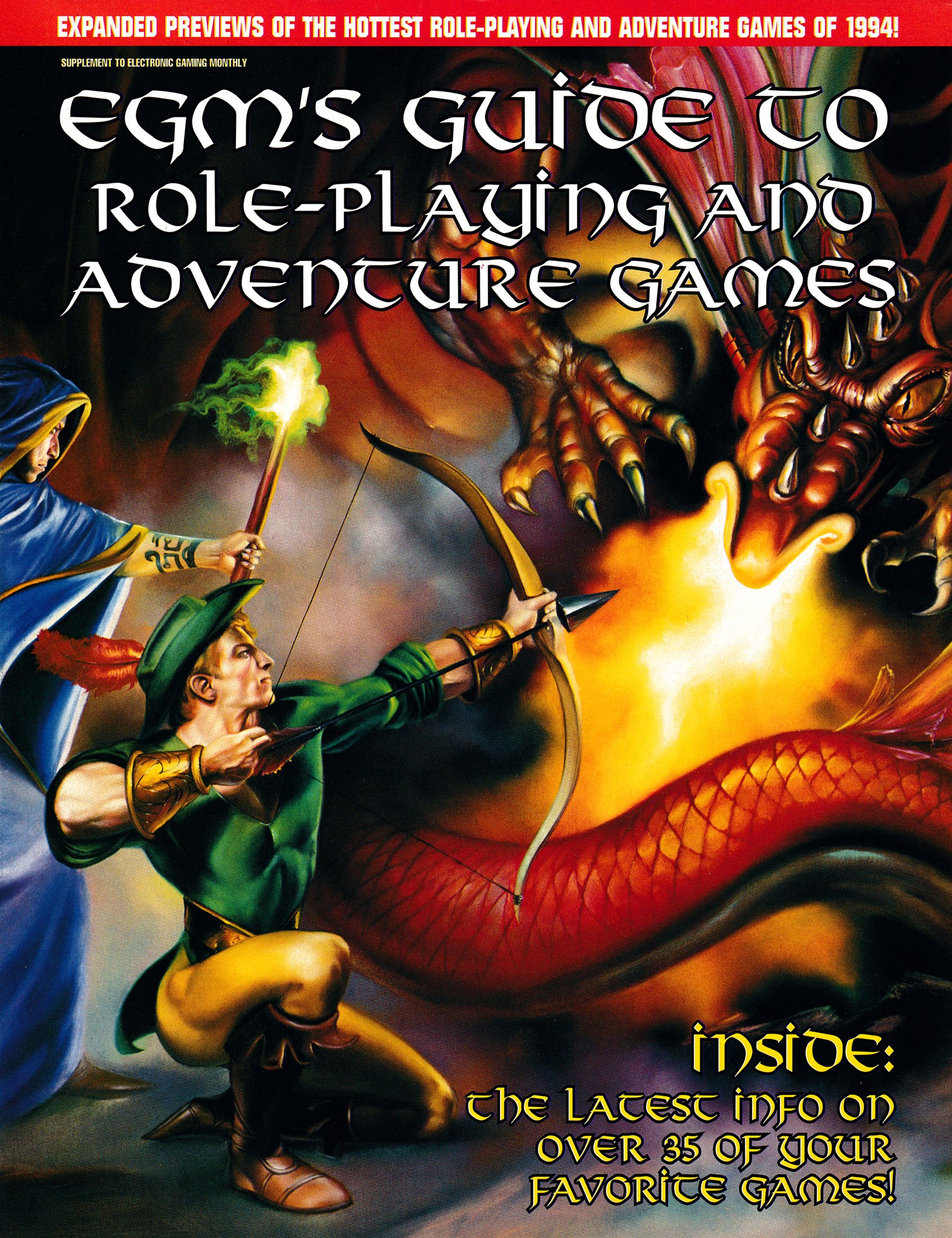 EGM's Guide to Role-Playing Adventure Games