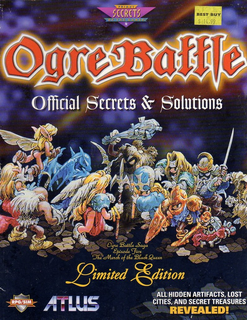 Ogre Battle Official Strategies & Solutions