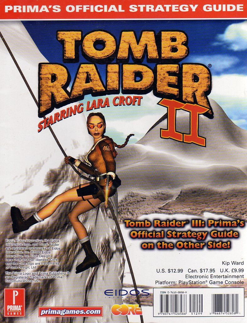 Tomb Raider III and Tomb Raider II Official Strategy Guide (Back).jpg