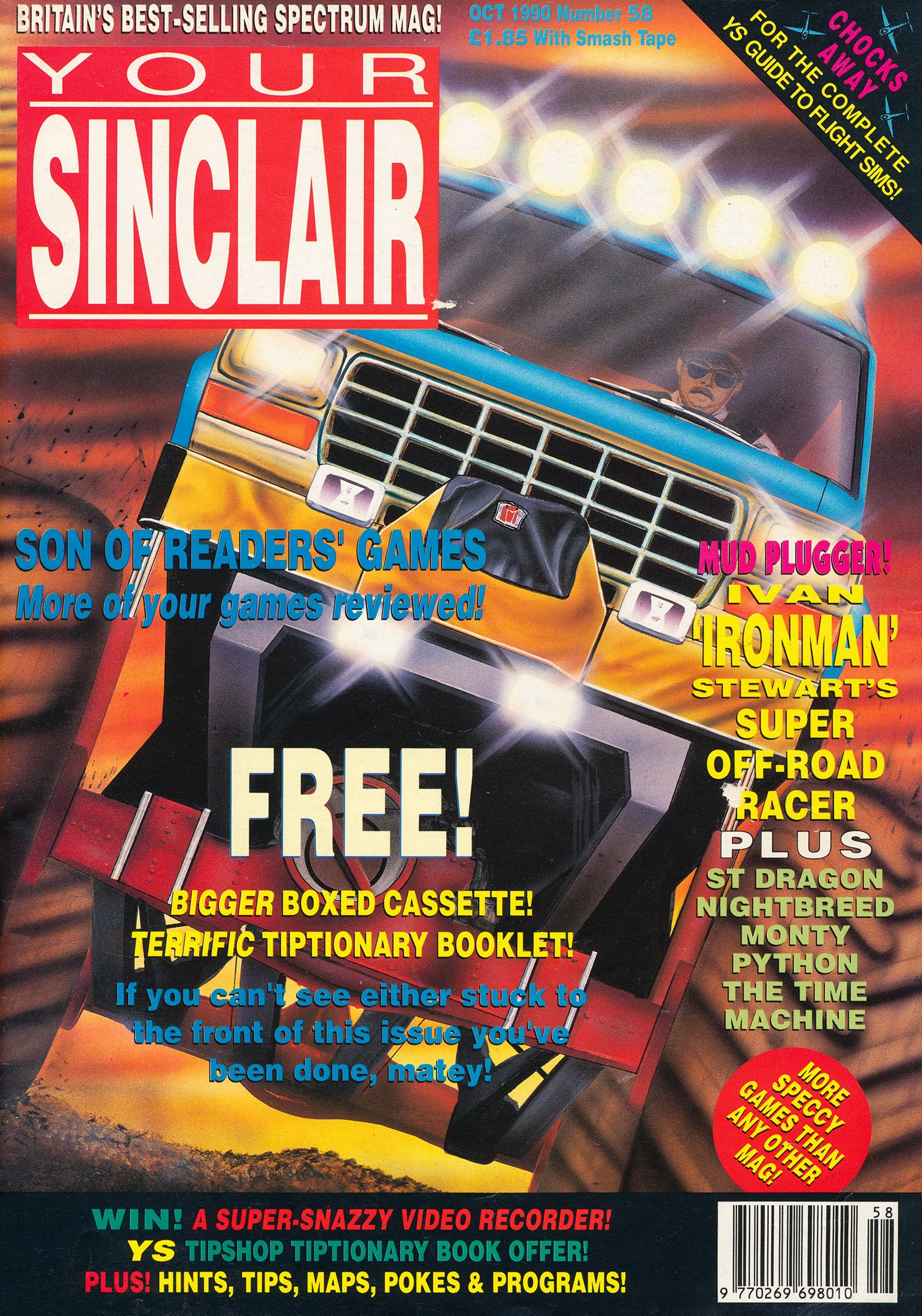 Your Sinclair Issue 58 (October 1990)