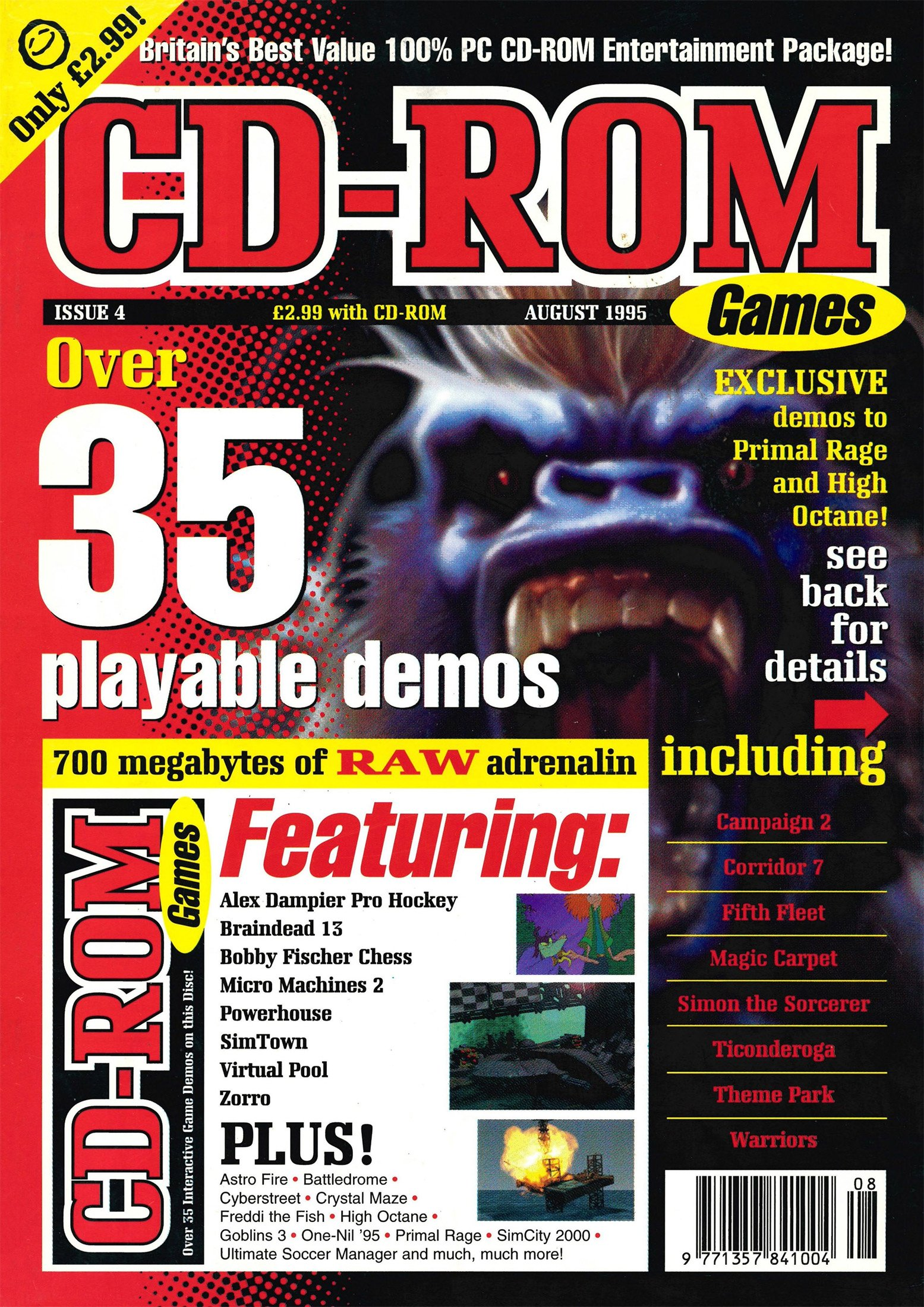 CD-Rom Games Issue 04 (August 1995)