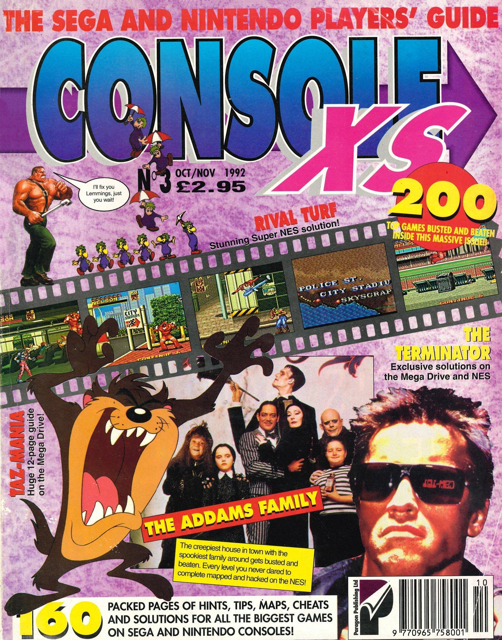 Console XS 03 (October / November 1992)