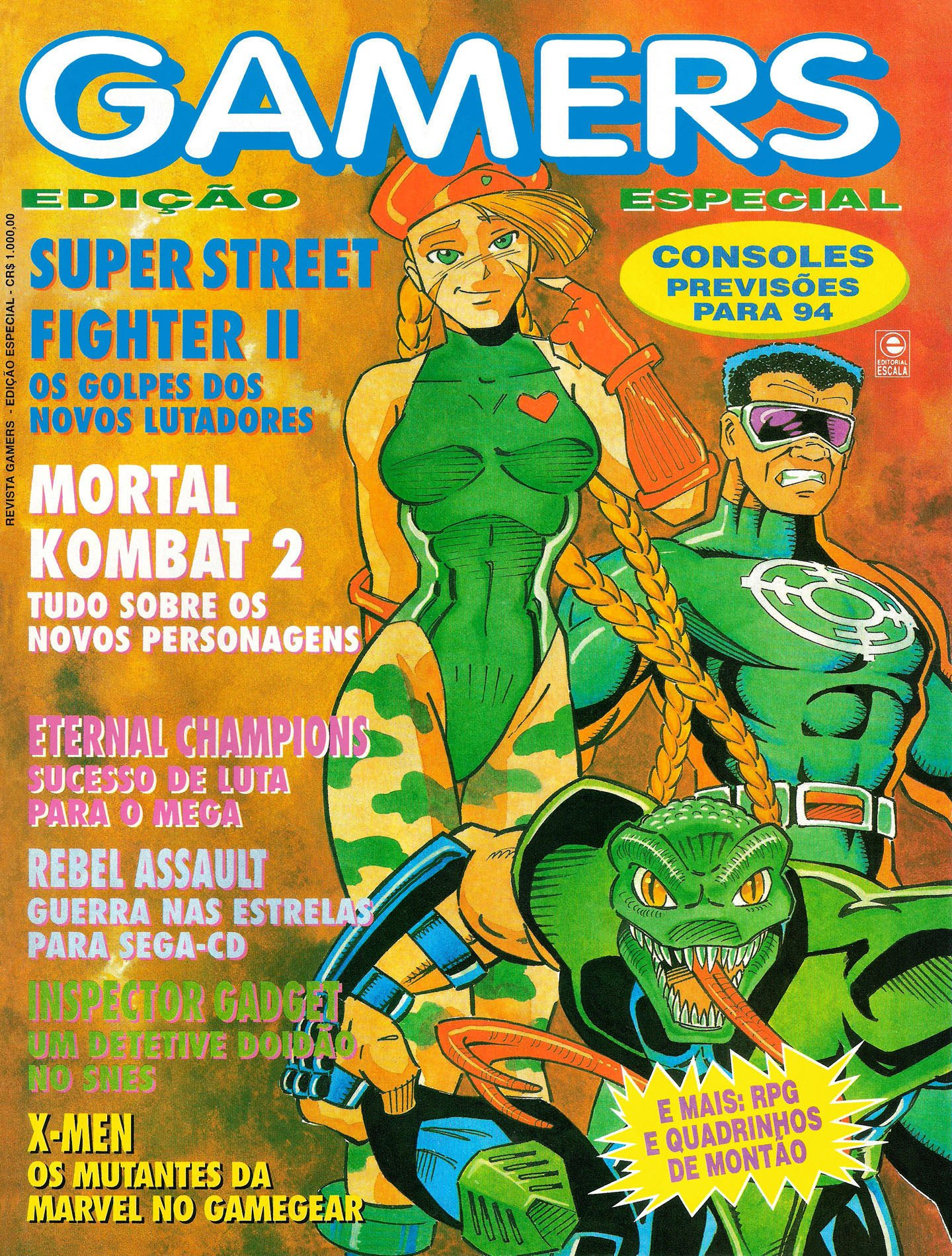 Gamers Issue 0 (1994)