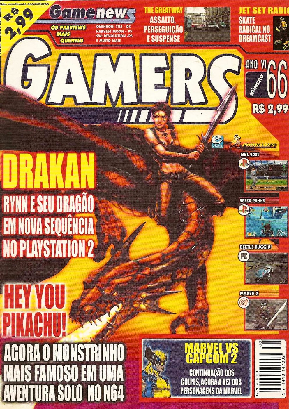 Gamers Issue 66 (2000)