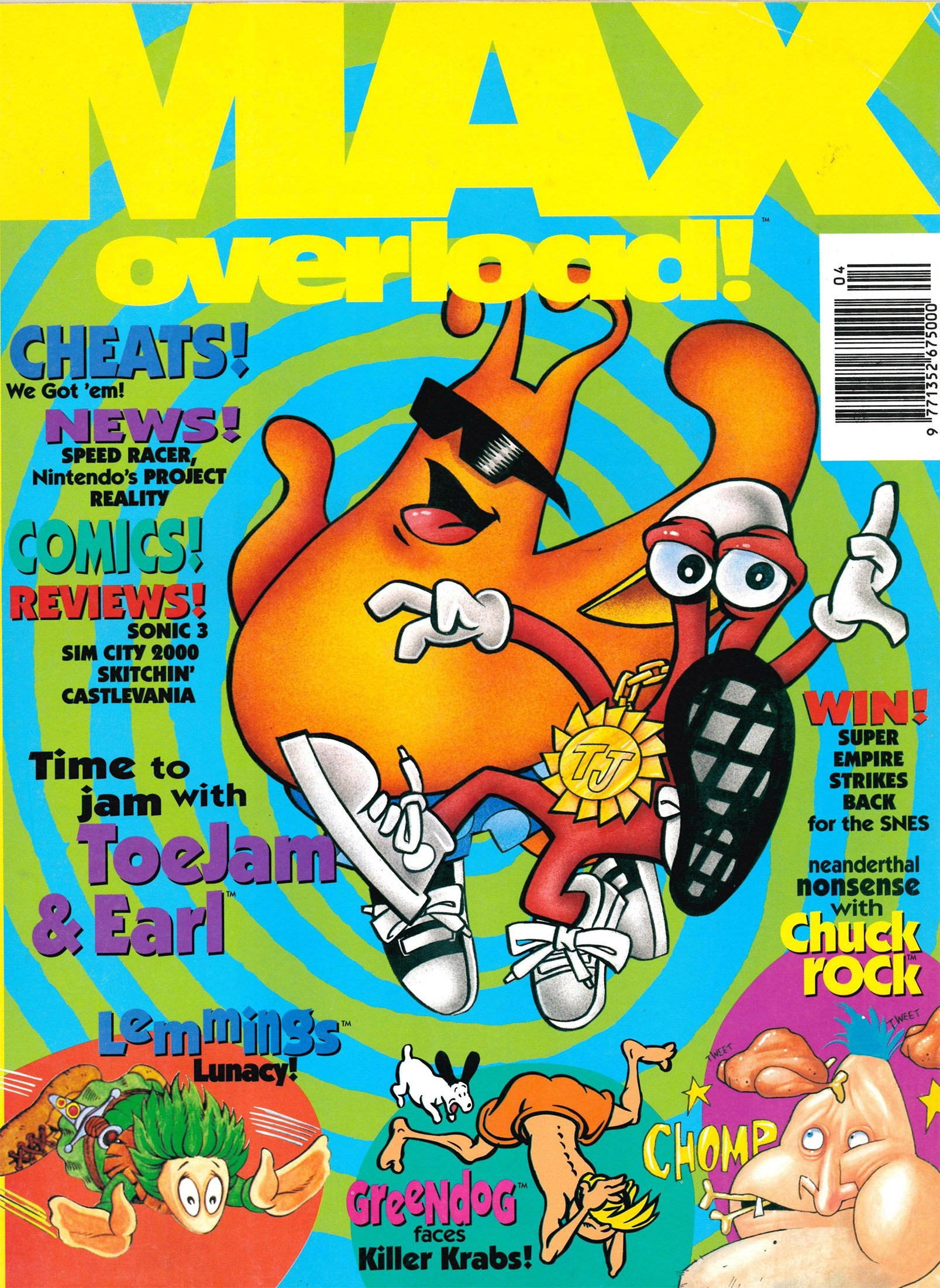 Max Overload! Issue 02 (April 1994)