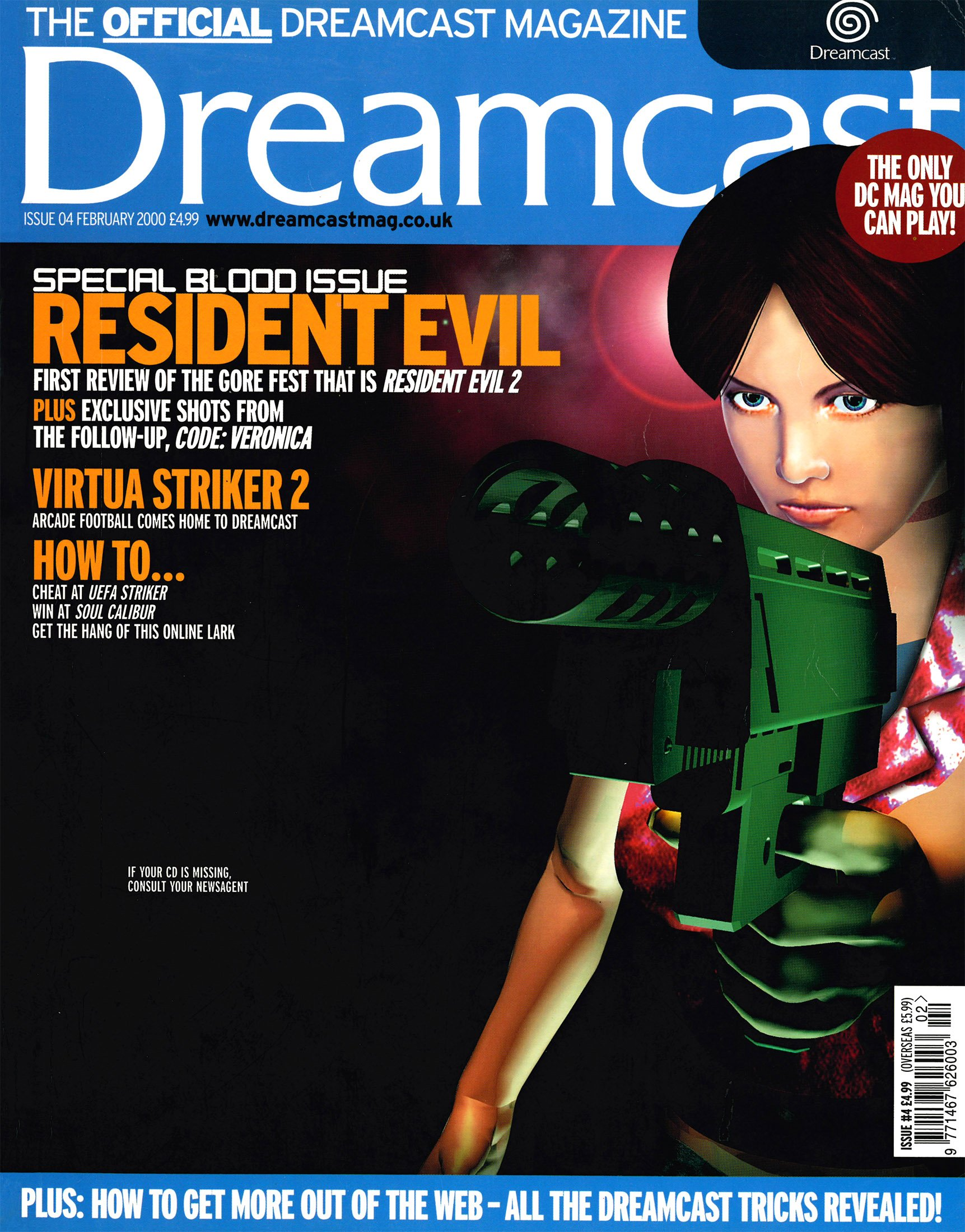 Official Dreamcast Magazine 04 (February 2000)