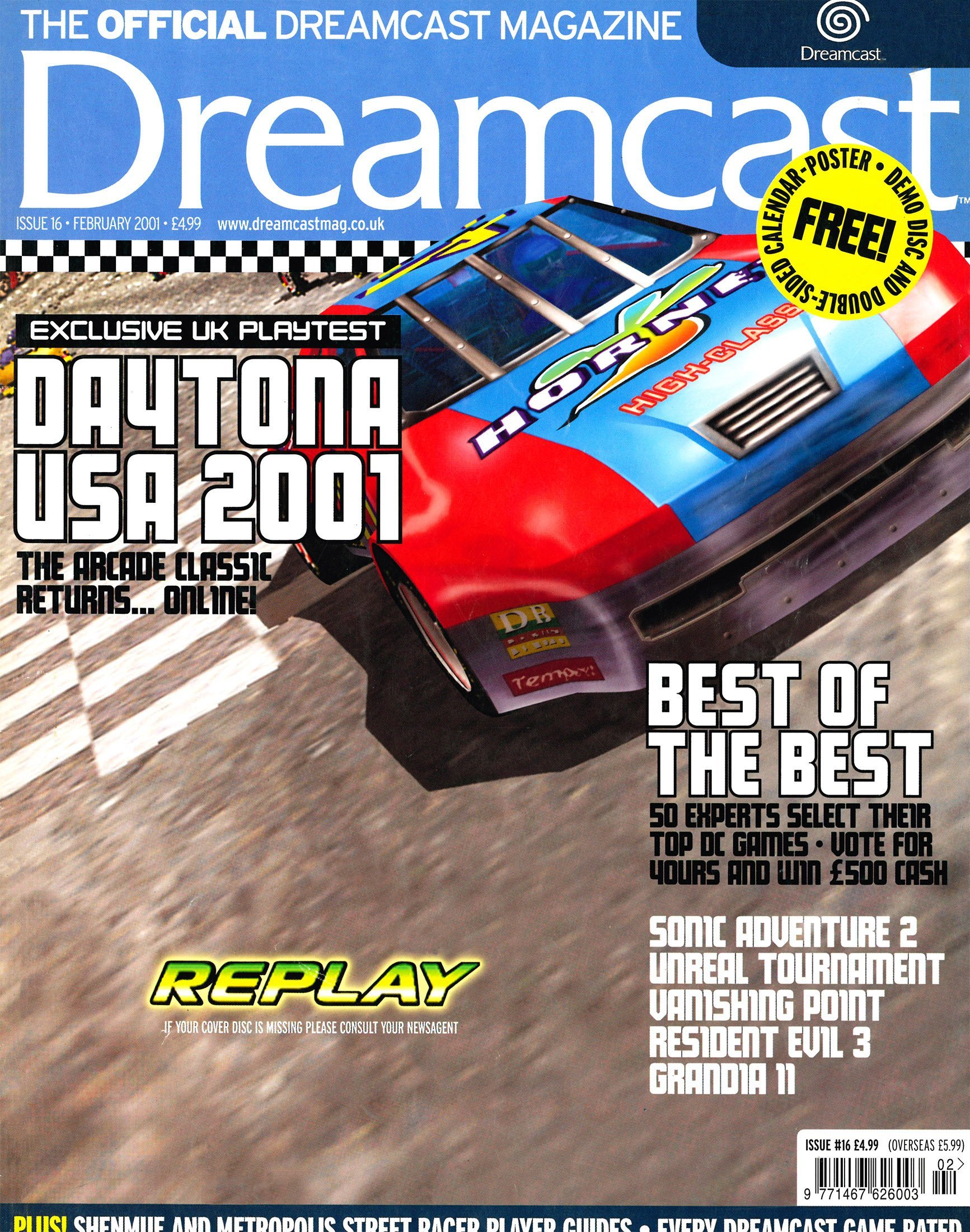 Official Dreamcast Magazine 16 (February 2001)