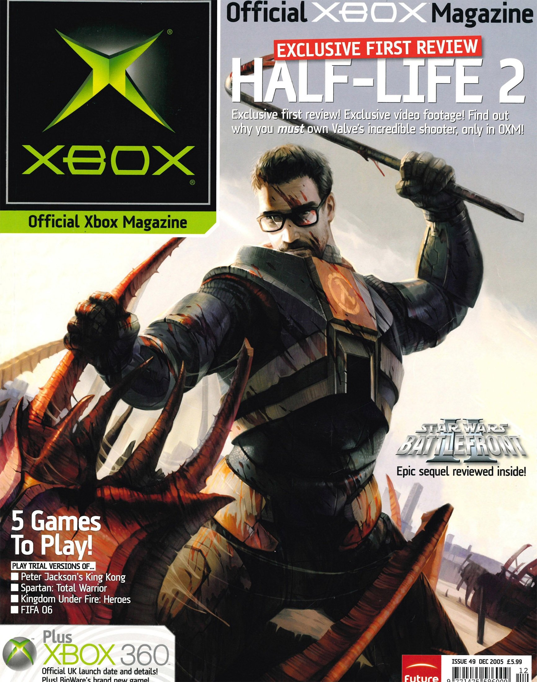 Official UK Xbox Magazine Issue 49 - December 2005