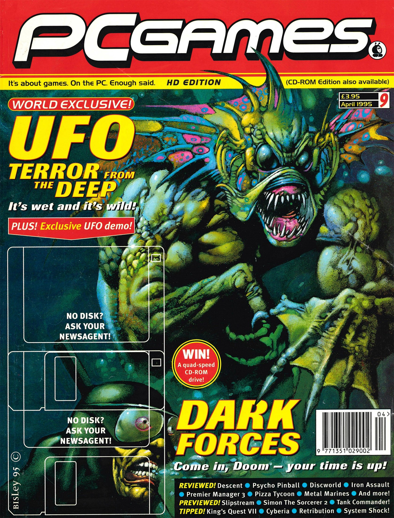 PCGames Issue 09 (April 1995)