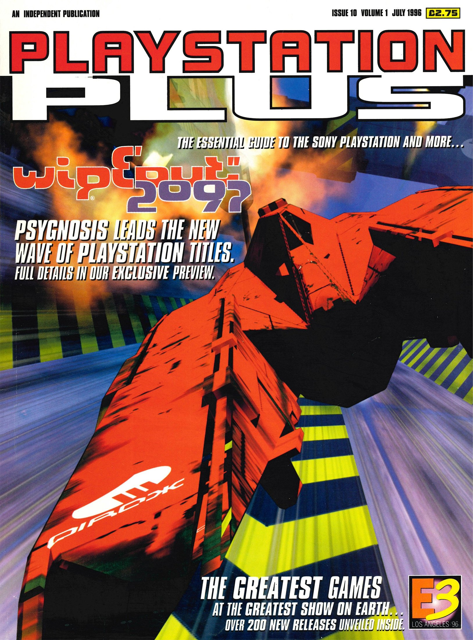 PlayStation Plus Issue 010 (July 1996)