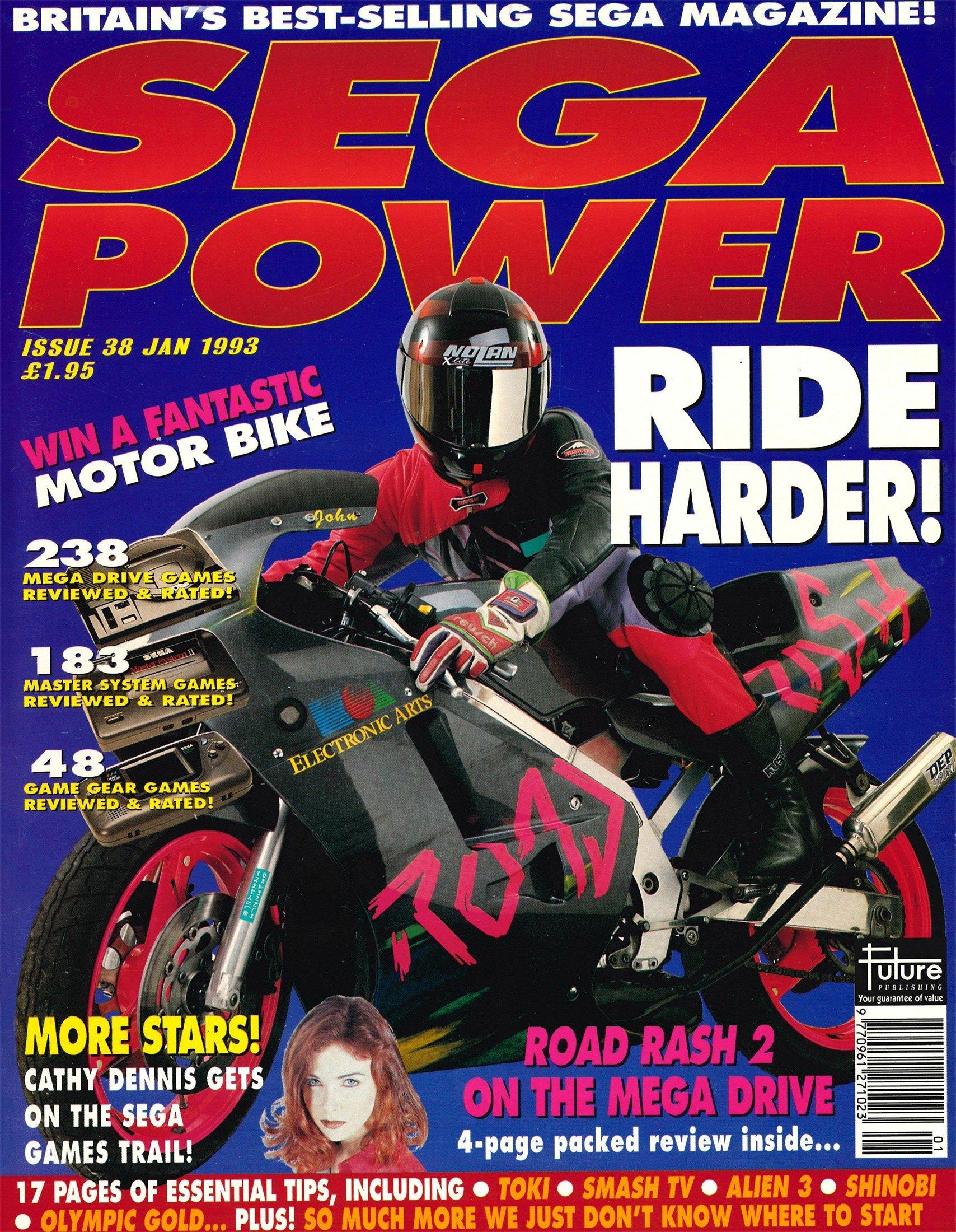 Sega Power Issue 38 (January 1993)