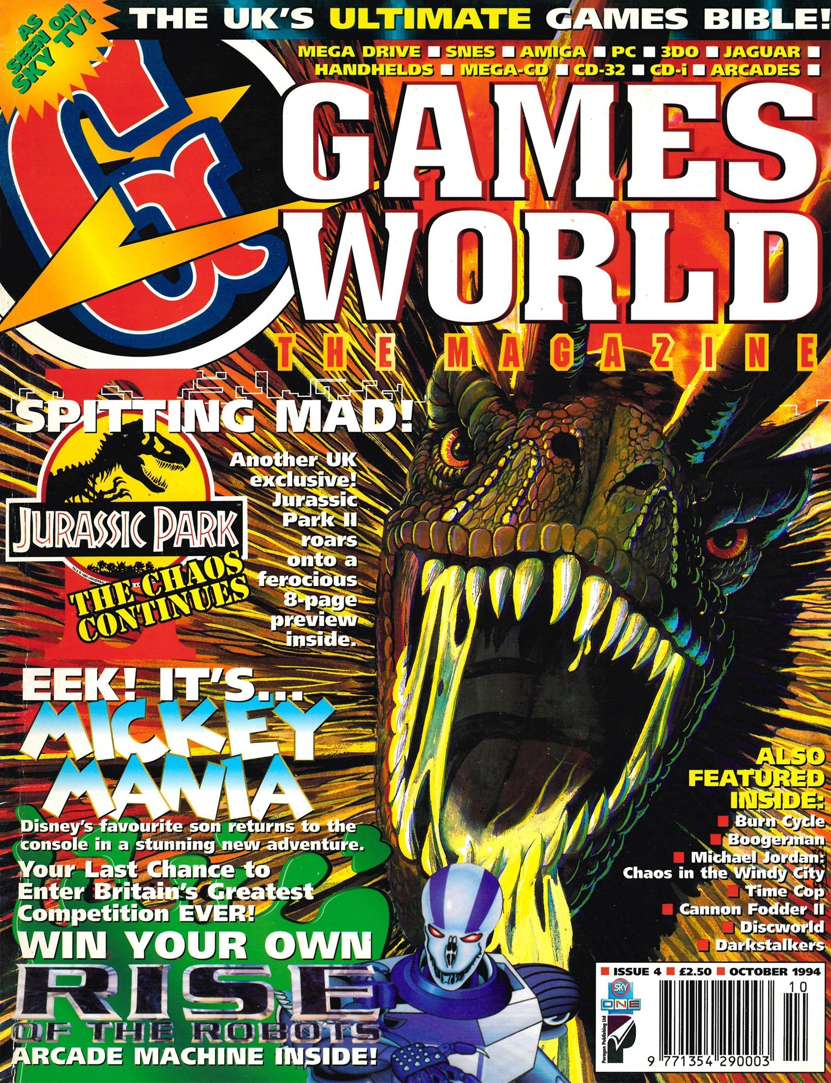 Games World Issue 04 (October 1994)