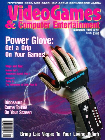 Video Games & Computer Entertainment Issue 08 September 1989