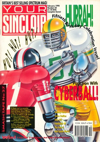 Your Sinclair Issue 50 (February 1990)