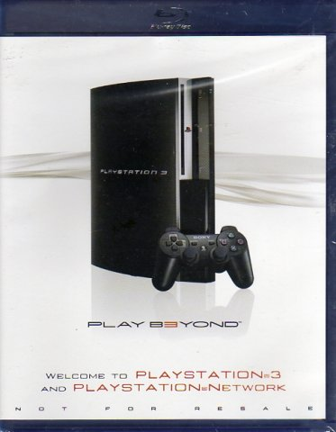 PlayStation 3 Play B3yond (Blu-Ray) (Front)