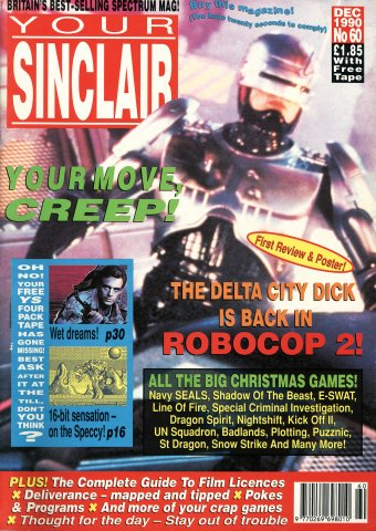 Your Sinclair Issue 60 (December 1990)