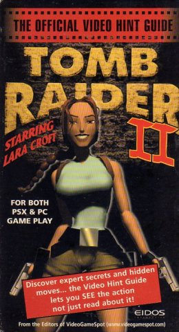 Tomb Raider II Official Video Hint Guide (VHS) (Front)