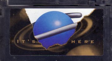 Sega Saturn It's Here Video (VHS) (Media)