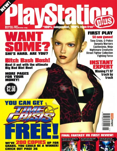 Playstation Plus Issue 026 (November 1997)