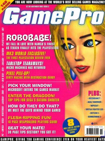GamePro UK Issue 03 (November 1995)
