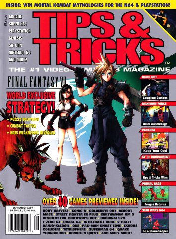 Tips & Tricks Issue 031 September 1997