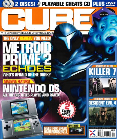 Cube Issue 39 (Xmas 2004)