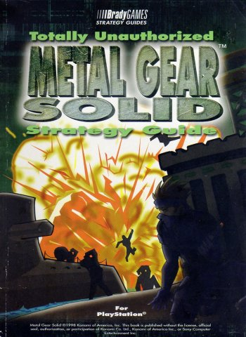 Metal Gear Solid Totally Unauthorized Strategy Guide
