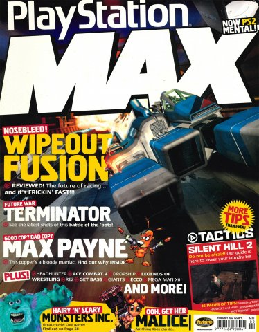 PlayStation Max Issue 41 (February 2002)