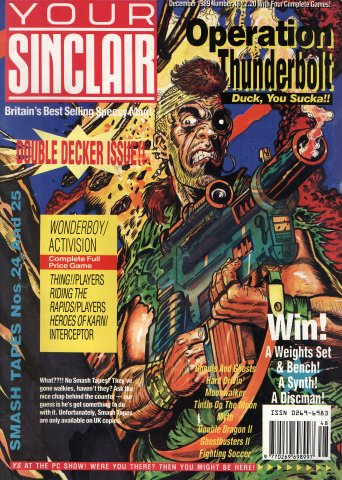 Your Sinclair Issue 48 (December 1989)