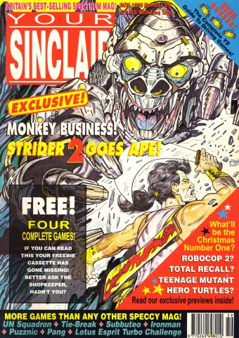 Your Sinclair Issue 59 (November 1990)
