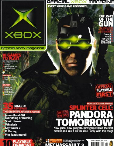 Official UK Xbox Magazine Issue 27 - March 2004