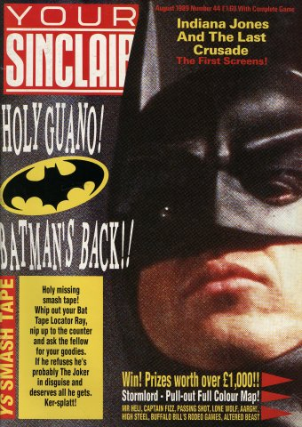 Your Sinclair Issue 44 (August 1989)