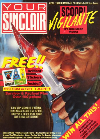 Your Sinclair Issue 40 (April 1989)